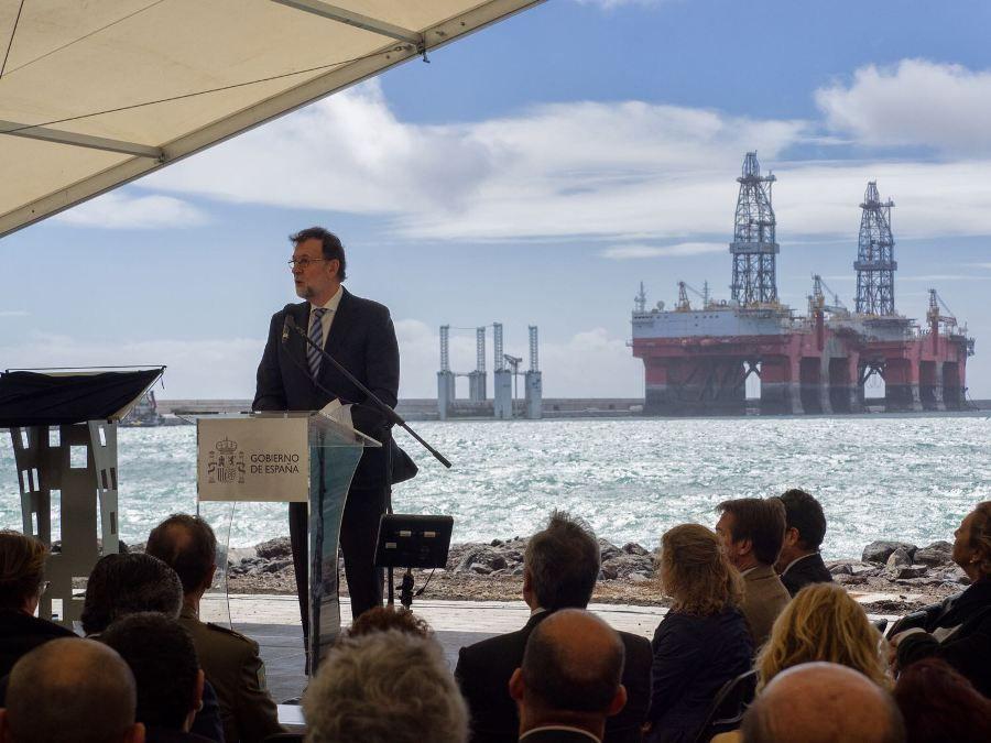 Mariano Rajoy inaugura el puerto de Granadilla | Puente de Mando - Juan Carlos Diaz