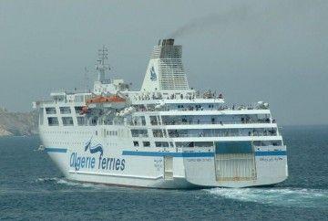 Tres buques de Algérie Ferries han sido construidos en España