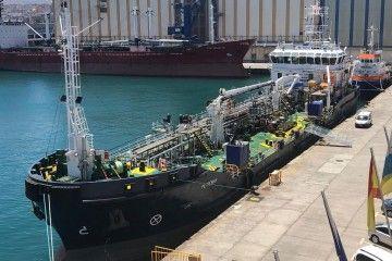 """El buque """"Petromar"""" ya se encuentra en el puerto de Las Palmas"""