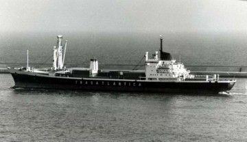 """En la imagen el buque """"Roncesvalles"""", de la misma serie del buque """"Belén"""""""