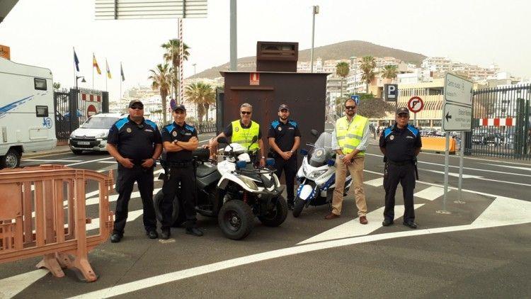 El papel de la Policía Portuaria ha sido esencial para el desarrollo del operativo