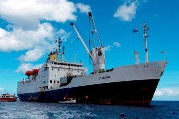 """El buque """"St. Helena"""" tendrá nueva vida como arsenal flotante"""