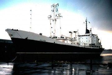 """El buque """"Galeona"""", recién entregado a Compañía Trasatlántica"""