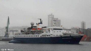 """El buque """"Ocean Adventurer"""" es un heredero de la extinta URSS"""