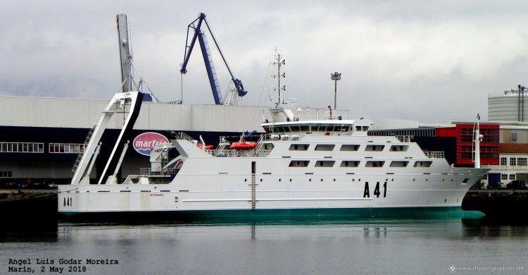 """El buque """"Intermares"""" será entregado a finales de julio"""