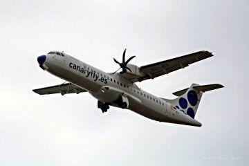 Canaryfly fue la segunda aerolínea más puntual en mayo de 2018