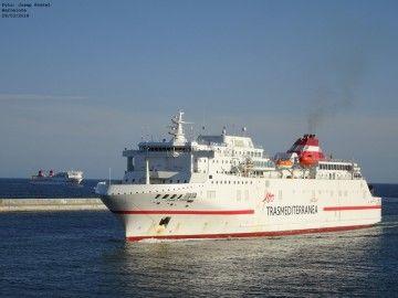 """A sus 25 años, el buque """"Juan J. Sister"""" sigue siendo el mejor de la flota de Trasmediterránea"""
