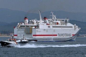 """El buque de alta velocidad """"Almudaina Dos"""" cubre la línea Palma-Ibiza-Gandía"""