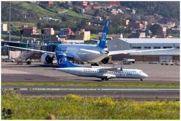 La llegada de Air Europa Express ha aumentado la oferta en la red interinsular de Canarias