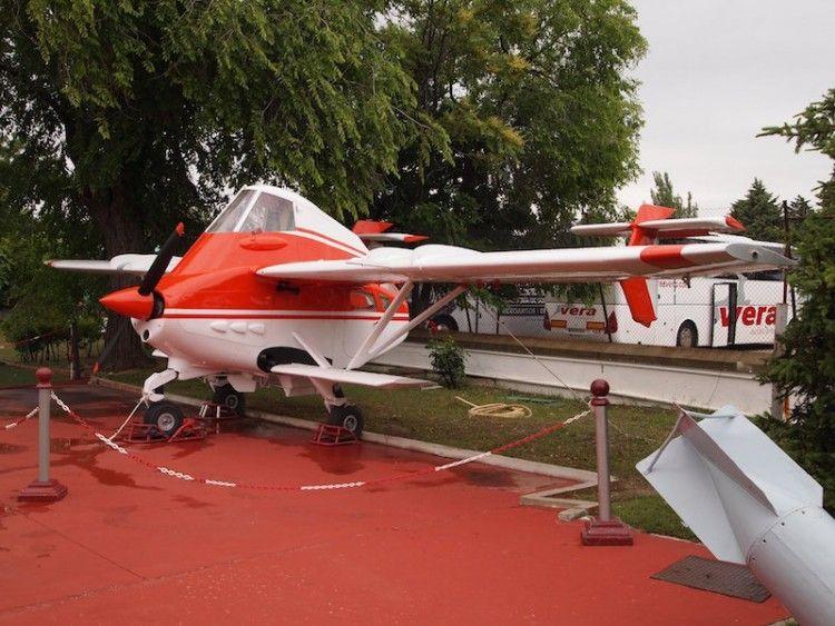 El avión agrícola australiano PL-12 Airtruk, tras su reciente restauración