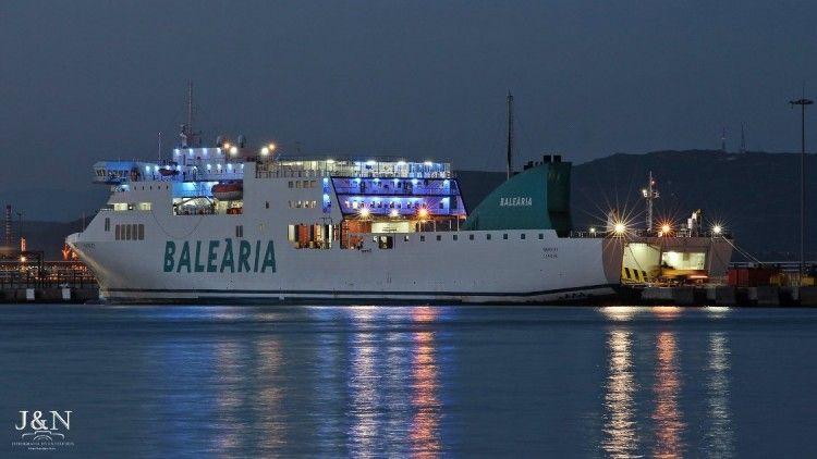 Balearia registró unos resultados satisfactorios en 2017