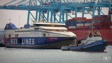 """El remolcador """"World Tug 1"""" lo lleva al desguace"""