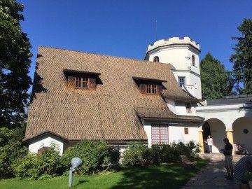 Panorámica de la casa-estudio de Gallen-Kallela
