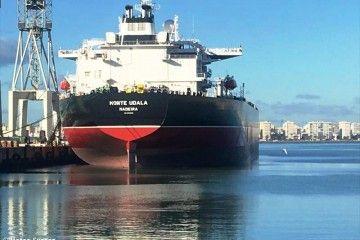 """El petrolero """"Monte Udala"""" está abanderado en Madeira"""