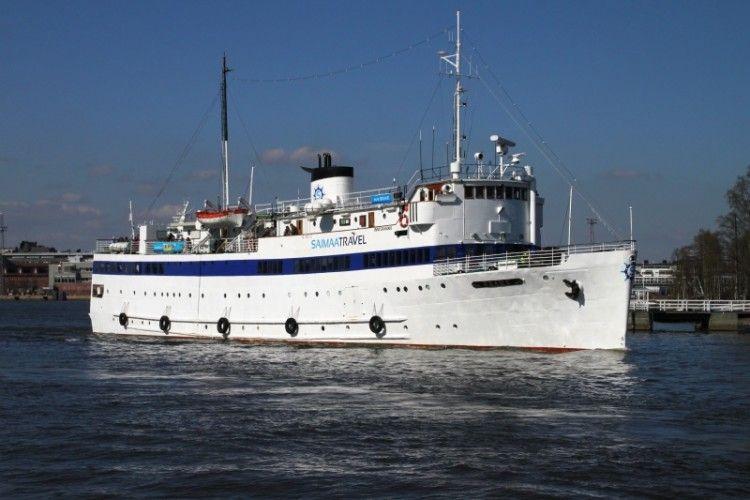 """La remozada estampa marinera del coqueto buque """"Brahe"""""""