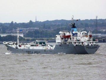 """El buque cementero """"Cementos Cantábrico""""  suma 42 años de vida marinera"""