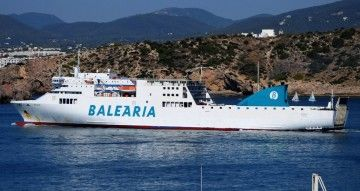 """El buque """"Sicilia"""" entra en el plan de remotorización de Balearia"""