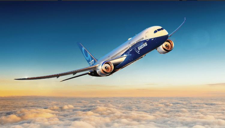 El avión Bieng B-787 Dreamliner es el gran competidor del A350 de Airbus