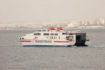El incidente se produjo en el viaje entre Melilla y Almería