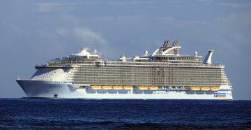 """Este es el buque """"Allure of te Seas"""", que vendrá en noviembre de 2020 a La Palma"""