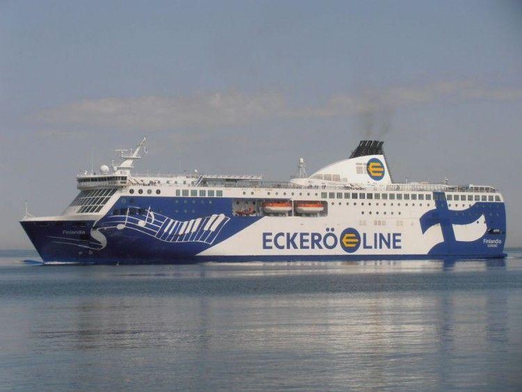 """Este es el ferry """"Finlandia"""", único barco de Eckerö Line"""