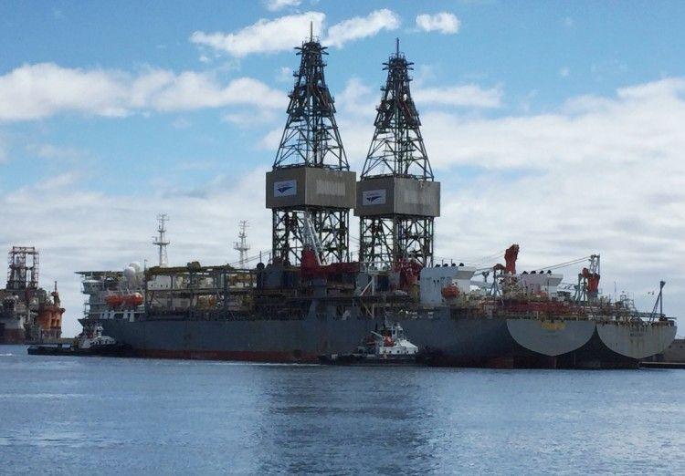 """El sector """"off shore"""" en el puerto de Santa Cruz de Tenerife se ha estancado"""