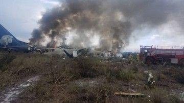El accidente, sin víctimas, ha provocado la destrucción parcial del avión
