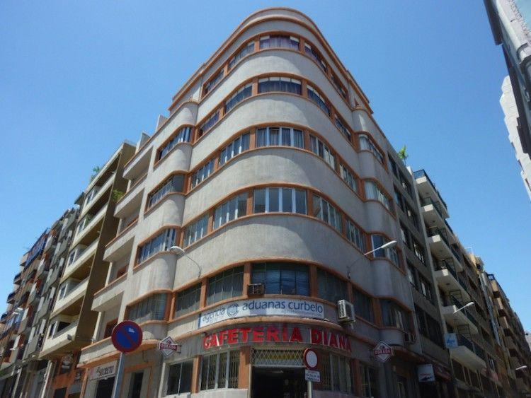 José Blasco. Edificio Núñez. Santa Cruz de Tenerife