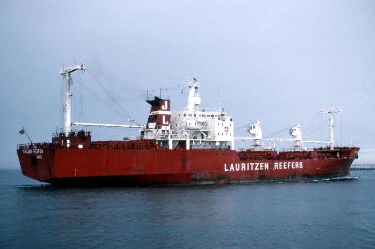 """El buque """"Italian Reefer"""" perteneció a la matrícula naval de Cádiz"""