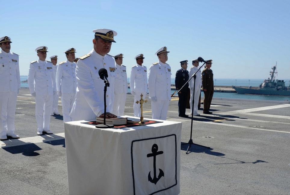 El almirante Garat Caramé jura su cargo de ALFLOT