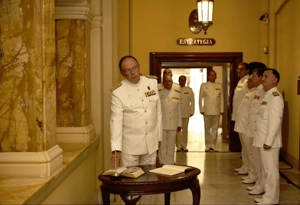 El almirante Urcelay jura su cargo como segundo AJEMA