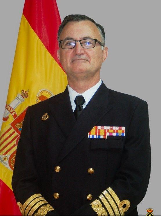 Juan Rodríguez Garat, almirante director del Órgano de Historia y Cultura Naval