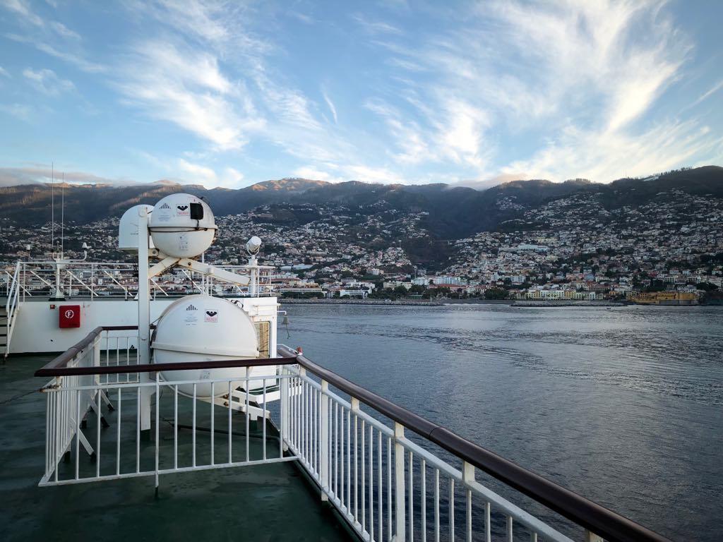 La llegada a Funchal es, sencillamente espectacular
