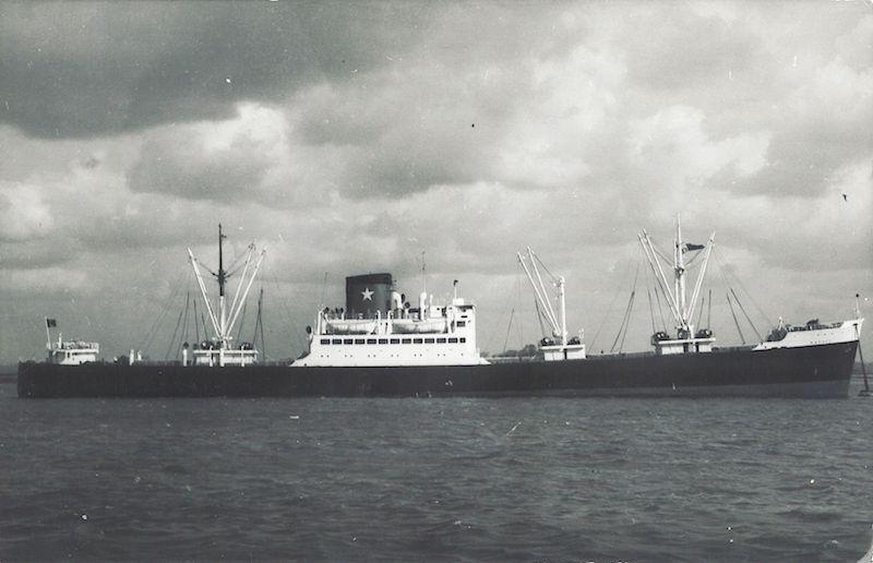 """El buque """"Nápoli"""", transformado en carguero de línea"""
