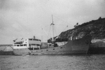 """Estampa marinera del buque """"Concepción Aparisi"""""""