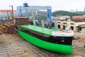 Los buques, cofinanciados por la UE, han sido construidos en China