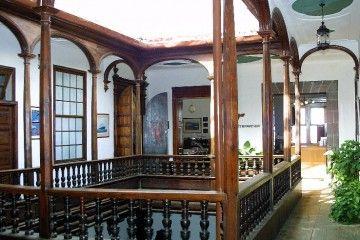 Casa Cabrera. Corredor de la primera planta
