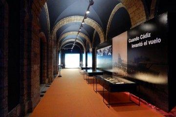 La exposición es una interesante muestra por los 90 años de la industria aeronáutica en Cádiz