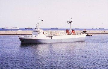 """El buque """"Volcán de Yaiza"""" señaló el comienzo de una nueva etapa del transporte marítimo en Canarias"""