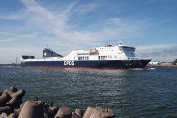 """El ferry """"Regina Seaways"""" es de construcción italiana, en servicio desde 2010"""