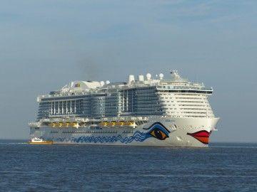 """Este es el buque """"AIDAnova"""", que llegará en diciembre a Santa Cruz de Tenerife"""