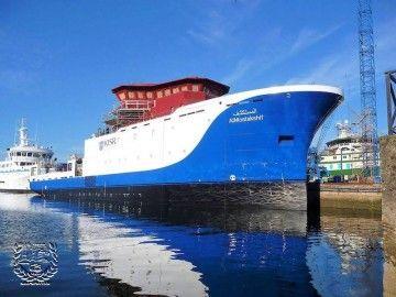Este es el buque oceanográfico que Freire construye para Kuwait