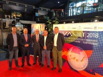 El encuentro de Coordinadora y los presidentes de las Autoridades Portuarias se ha celebrado en la SALT 2018