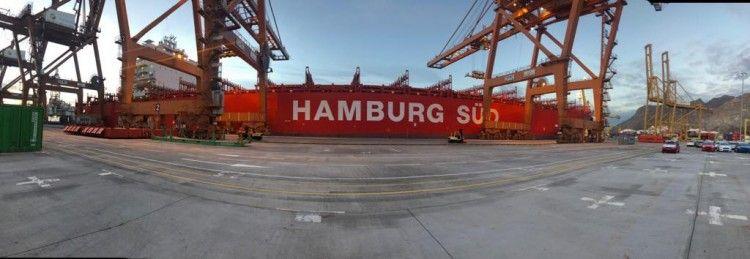 """El buque liberiano """"Río de la Plata"""" se encuentra atracado en la terminal de TCTenerife"""