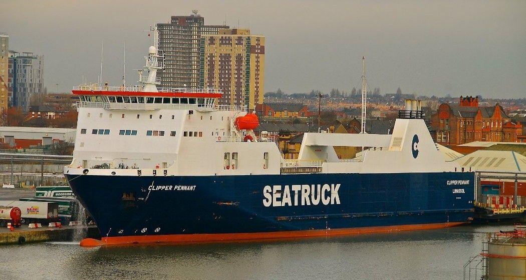 """El buque """"Clipper Penant"""" será uno de los asignados a la línea Huelva-Canarias"""