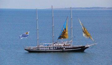 """El buque-escuela """"Capitán Miranda"""", orgullo de Uruguay"""
