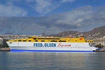 """El catamarán """"Betancuria Express"""" entró en línea el pasado 15 de octubre"""