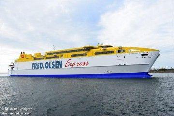 "El catamarán ""Betancuria Express"" salió esta tarde de Suecia rumbo a Tenerife"