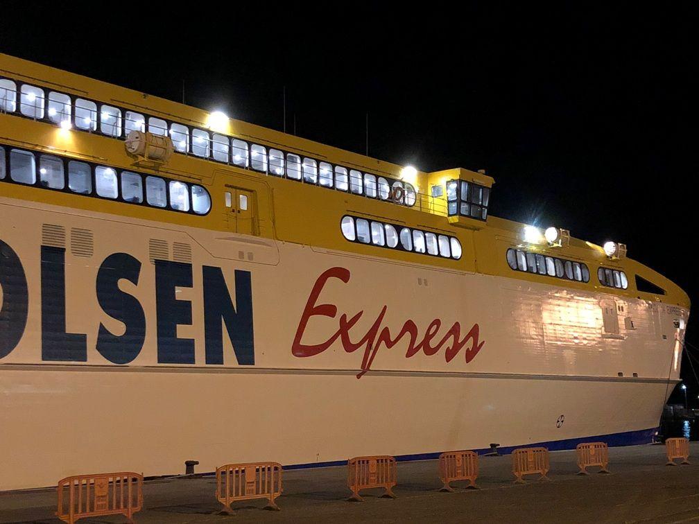 """El catamarán """"Betancuria Express"""" es uno de los mayores del mundo en su clase"""