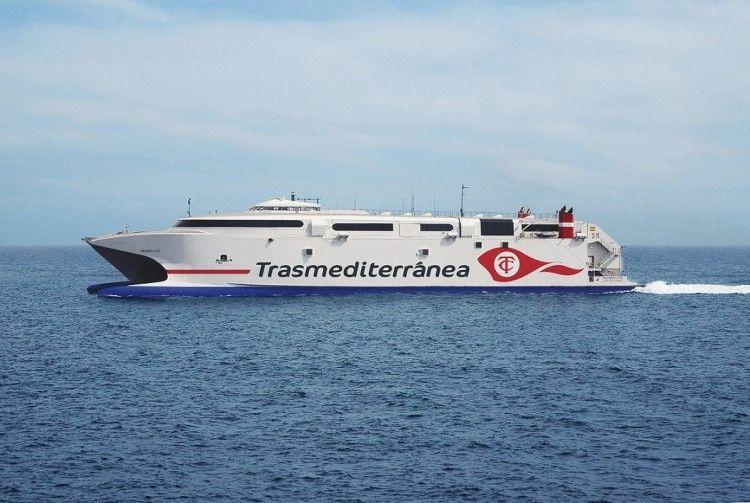 "El catamarán ""Milenium Dos"" cubre la línea Algeciras-Ceuta"